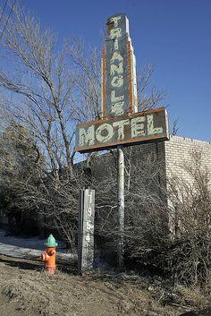 Triangle Motel, Route 66 - Amarillo, Texas