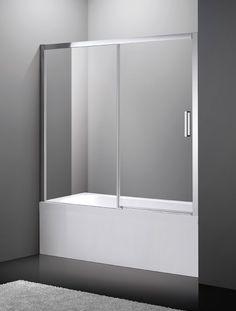 Los frontales de bañera del modelo Aktual de GME constan de una hoja fija y otra batiente, facilitando tanto el acceso como su limpieza. Ideales si tu bañera para tu bañera encajada