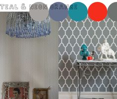 Latest and Greatest, Lattice and Tessella wallpapers from Farrow & Ball