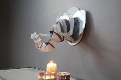 TROPHEE ELEPHANT BLANC -450€-