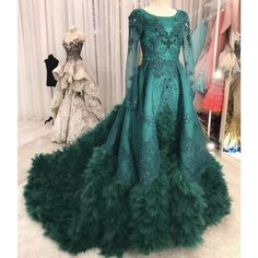 Cheap Prom Dresses, Prom Dresses Long With Sleeves, Lace Evening Dresses, Modest Prom Gowns, Formal Dresses, Beaded Prom Dress, Ball Gowns Prom, Lace Applique, Feather