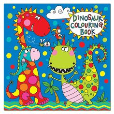 Dino mad kids will love this Rachel Ellen Dinosaur Colouring Book. Great designs which will entertain them for hours.