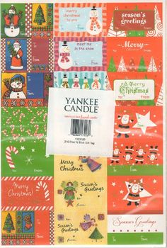 Yankee Candle Christmas Gift Tags - Pkg of 210 => Find out more details by clicking the image : Christmas Gifts