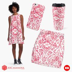 "Feel pretty and femenine with the ""baroque fabric"" collection by ASCasanova. You can find the complete collection in Redbubble http://www.redbubble.com/people/ascasanova/works/15558764-a-baroque-fabric?asc=u"