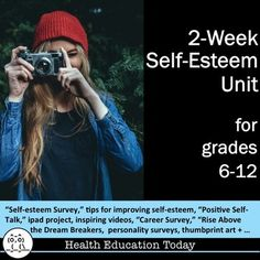 Health Unit: 2-Weeks of Improving Self-Esteem Lesson Plans