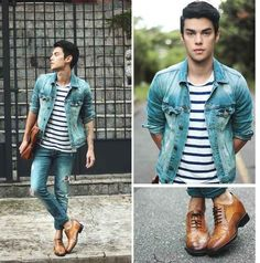 Faça uma troca: combine roupas casuais com sapatos…