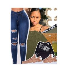 """""""🤞🏽💰"""" by qveen-jen ❤ liked on Polyvore featuring ASOS, Victoria's Secret PINK, MCM, Ralph Lauren, Victoria's Secret and NIKE"""
