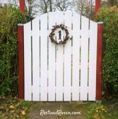 Gartentor selber bauen auf RostundRosen.com