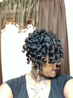 Heatless Curls!! #flexset