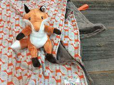 Minky bébé couverture - couverture de bébé personnalisé Fox couverture - couverture bébé personnalisée - bébé - 100 % coton - emballé cadeau par PolkaDotBabyShoppe sur Etsy https://www.etsy.com/fr/listing/204587282/minky-bebe-couverture-couverture-de-bebe