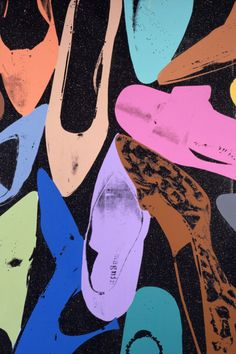 Andy Warhol, Diamond Dust Shoes (Random), 1980Fosterginger.Pinterest.ComMore Pins Like This One At FOSTERGINGER @ PINTEREST No Pin Limitsでこのようなピンがいっぱいになるピンの限界