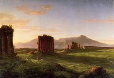 Cole Thomas Roman Campagna 1843 - Thomas Cole – Wikimedia Commons