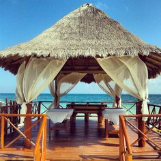 A beach massage anyone?! The Beloved Hotel Playa Mujeres #Cancun #Mexico #BelovedHotels