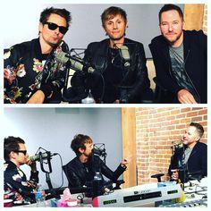 Matt Bellamy and Dom Howard - Interview - Ted Stryker - KROQ FM __________________ https://twitter.com/TedStryker ________________... ... Cool guys #MattBellamy #DomHoward #music