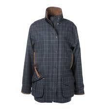 Gumleaf Country Clothing Ladies Morston Shooting jacket Ladies waterproof lightweight shooting jacket designed in Norfolk made in the United Kingdom
