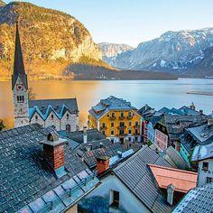 The eternally picturesque Hallstatt, Austria. Photo courtesy of brianthio on Instagram.