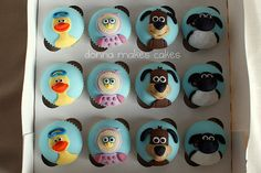 Timmy Time Cupcakes by donna_makes_cakes, via Flickr