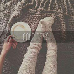 Cold days. ❄☁