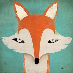 Viv + Rae Fox Canvas Art & Reviews | Wayfair