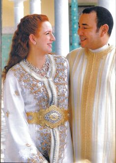 Lalla Salma Of Morocco (wife and King of Morocco)  She is SO beautiful, and her gown is Gorgeous!!!