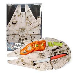"""Star Wars Cutting Board - Millennium Falcon Acrylic Chopping Board (15""""x11) - Take Your Cutting Into Hyperspace Star Wars http://www.amazon.com/dp/B00KCQ701Y/ref=cm_sw_r_pi_dp_2CRZub1EKXTVP"""