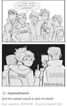 Haikyuu captains/ FU Shiratorizawa