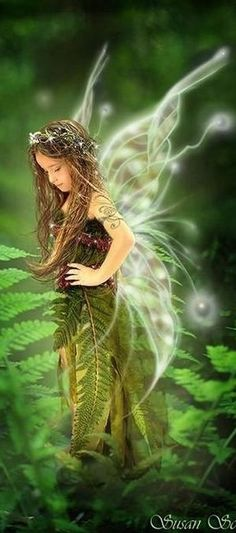 Green Fairy #Magical