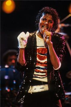 """I felt that one glove was cool. Wearing two gloves seemed so ordinary."" -Michael Jackson"