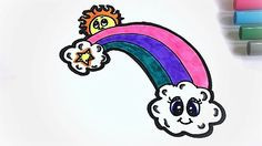 Hey guy, it's Nik! I'm so excited to show you this video because I LOVE rainbows! Stay tuned to see how to draw a rainbow with fluffy clouds. You also get 2 for the price of one in this video, because if you keep watching you'll get to see me draw a cartoon soda and milkshake! What are you waiting for, let's go!