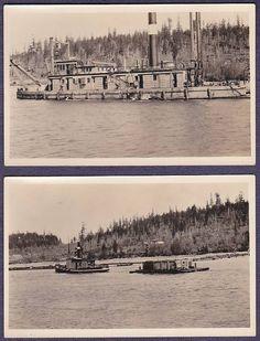 """(2) PORT LUDLOW, WA RPPC """"Seattle"""" Dredging Vessel Project, near Port Townsend"""