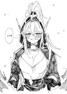 [히오스] 시공주식회사 화이트메인 대리 + 팬아트 그린 것들 | 루리웹 만화 갤러리 통합 목록 | 루리웹 모바일 Monster Girl, Dark Souls, Manga, Anime, World Of Warcraft, Skyrim, Concept Art, Character Design, Geek Stuff