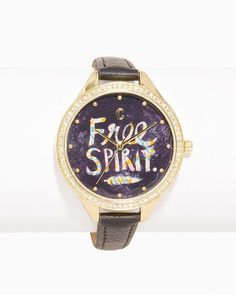 Charming charlie Free Spirit Pavé Watch