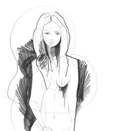 Pencil drawing - Holly Sharpe