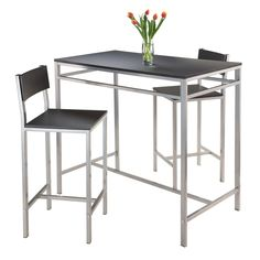 Winsome Hanley 3 Piece Pub Table Set