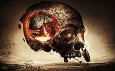 1920x1200 px Awesome skull pic by Scarlett Grant for  - pocketfullofgrace.com