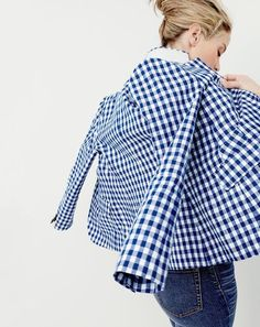 campbell blazer in gingham Preppy Girl, Preppy Style, Mom Style, Preppy Outfits, Fashion Outfits, Womens Fashion, Preppy Fashion, Style Fashion, Spring Summer Fashion