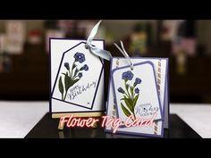 Flower Tag Card - Giggles Creative Corner