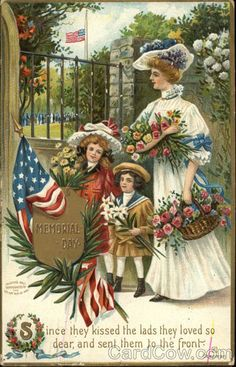 Memorial Day postcard. 1909