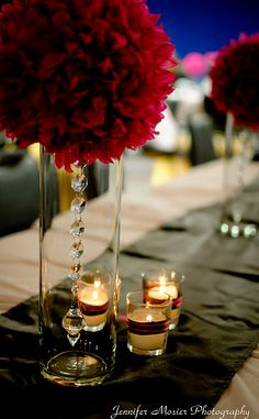 love these pomander centerpieces!