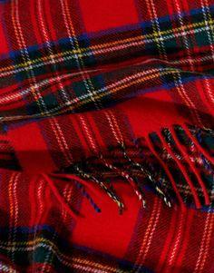 Image 2 - Johnstons - Royal Stewart - Écharpe en laine d agneau à carreaux df59c3e52a8