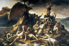Theodore Gericault: Raft of the Medusa: A French Royal Navy frigate set sail in 1816 to colonize Senegal. It was captained by an officer who had not sailed for over twenty years and who ran the ship aground on a sandbank. Due to a shortage of lifeboats, those who were left behind had to build a raft for 150 souls—a construction that drifted away on a bloody 13-day odyssey that was to save only 10 lives. The disaster of the shipwreck was made worse by the brutality and cannibalism that…
