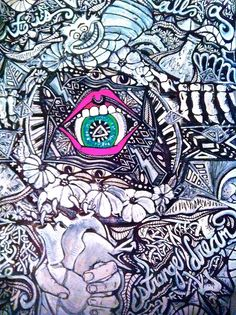 trippy class sketches, Deanna Young