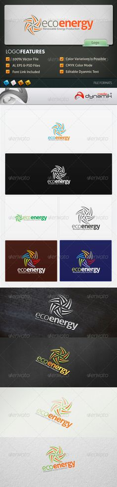 Eco Energy - Logo Template