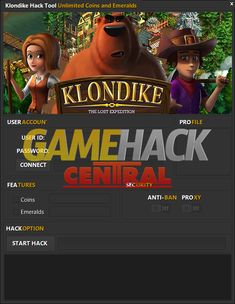 Klondike Lost Expedition Hack Do you need additional Unlimited Emeralnds,Unlimited Coins? Try the newest online Hack tool. Ios, Glitch, Cheat Online, Game Update, Gaming Tips, Test Card, Mobile Game, News Online, Android