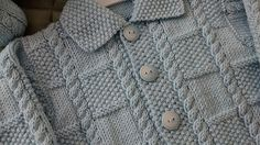 Ravelry: Deluxe Baby (Jacket) pattern by Jarol Baby Boy Knitting Patterns, Baby Cardigan Knitting Pattern, Baby Patterns, Crochet Baby Cardigan, Knit Baby Sweaters, Cool Jackets, Baby Jackets, Big Girl Fashion, Jacket Pattern