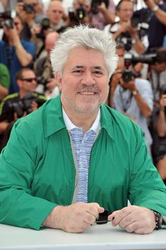 Pedro Almodovar - I'm fascinated by his mind and the way he directs amazing movies!  Yes, perfect dinner guest... a little irreverent... perfect!
