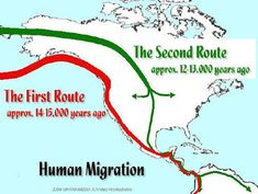 Bering Strait Theory: The Theory Comes Crashing Down From… Native American Map, American History, European American, American Indians, Dna Genealogy, Family Genealogy, March For Science, Einstein, Asian History