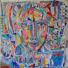 Swiss Artist Painter | Painted by Cathy Butuza #outsiderart #artbrut #art #artist #artistic #artwork #facesart #illustration #illustrationart #drawing #sketches