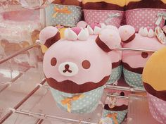 Hello My Lovelies~, mochi-bunnies: rilakkuma cupcake