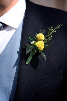 Yellow Boutonnaire